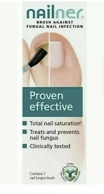 Nailner Brush Toe Fungal  Nail Treatment Repair Nail Proven Effective 5ML. NEW