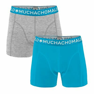 Muchachomalo 2 Pack 1010 Solid Boxershorts Boxer Mutande or-GR