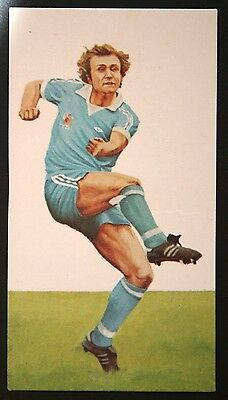 Topps Football Red 1977 Paul Power Manchester City No B1 192