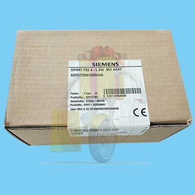 1PC NEW Siemens 6DR5220-0EG00-0AA0 6DR5 Valve intelligent positioner