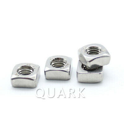 M3 M4 M5 M6 M8 M10 Square Nuts 304 Stainless Steel DIN557 DIN562(Thin Type)