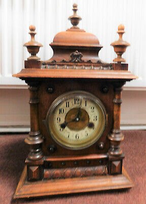 hac  knobbly bracket clock for restore