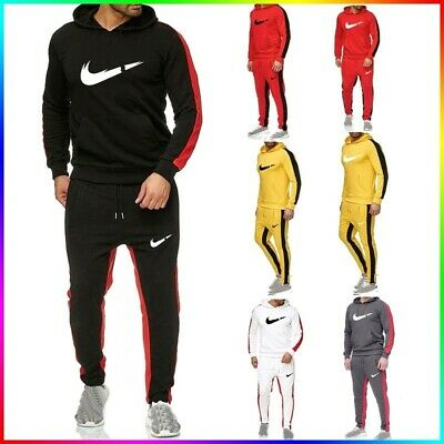 Men's New Casual Wear Printing Suit Men's Hooded Sweater Wei Pants Sports Suit