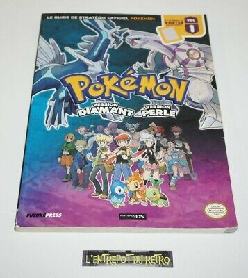 ++ le guide de stratégie officiel pokemon version diamant / perle ++