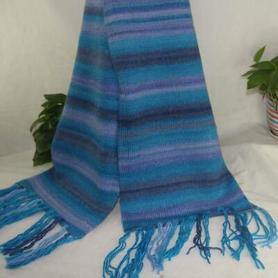 Women Men Warm Winter Hand knitting Soft Scarf Worsted Wrap Shawl Scarves 16829