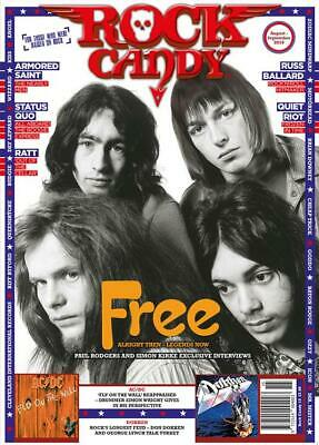 Rock Candy - Issue 15 - : Status Quo, ACDC, Quiet Riot