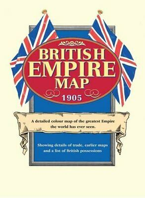 British Empire Map 1905 by J G Bartholomew Mixed media product Book The Fast