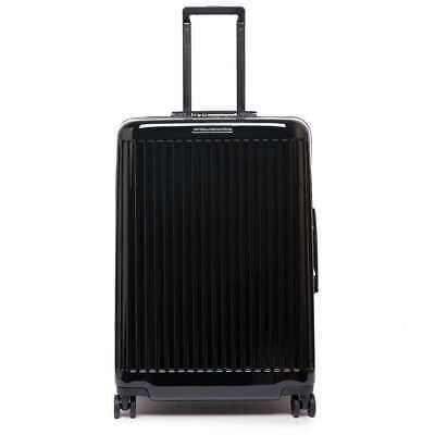 NEW PIQUADRO Trolley Seeker Black TSA lock - BV4427SK70-N