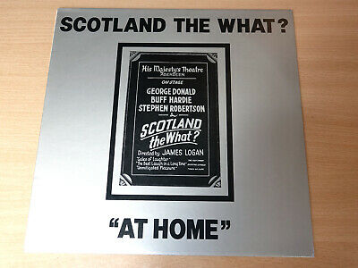 EX/EX !! Scotland The What?/At Home : Live At HM Theatre Aberdeen/1979 LP