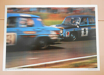 PUBLICITE ELF 1970 - Coupe nationale R8 GORDINI - PILOTE ELF COURSE AUTOMOBILE