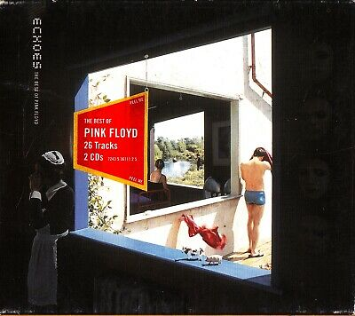 The Best Of PINK FLOYD - Echoes 2-CD 2001 Prog Rock Greatest Hits/Roger Waters