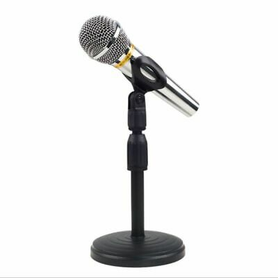 Foldable Desktop Tripod Mic Stand Foldable Table Tops Microphone Mount Holders