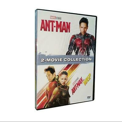 Marvel's Ant-Man & Ant-Man & The Wasp: 2 Movie Collection (DVD) FREE Shipping!
