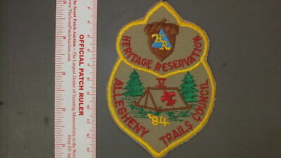 Boy Scout Heritage Reservation 2004 Early Bird Camp Patch
