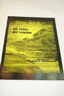 BE THOU MY Vision SHEET MUSIC-SATB CHOIR-PIANO/VOCAL-SACRED