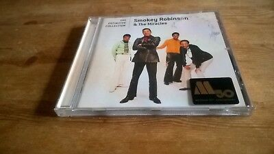 Smokey Robinson & The Miracles ‎– The Definitive Collection CD. EX  Motown