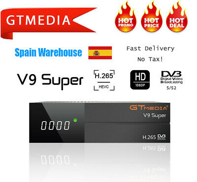 Built-in WIF HD Digital satellite TV receiver GTMEDIA V9 Super 1080P USB 2.0 FTA