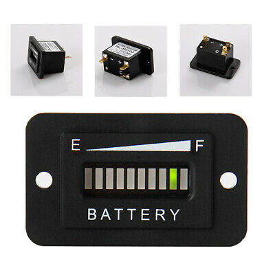 Battery Indicator Charge Meter Automatic Capacity Tester LED Display Car Status