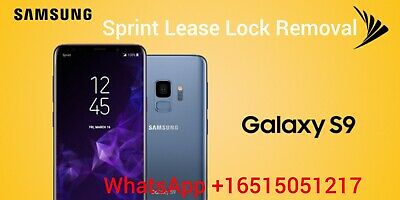 SAMSUNG GALAXY NOTE 8/Note 9 Sprint Lease Lock Removal
