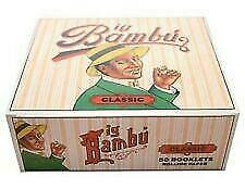 Big Bambu Classic Cigarette Rolling Papers 10 Booklets  Fast Free Shipping