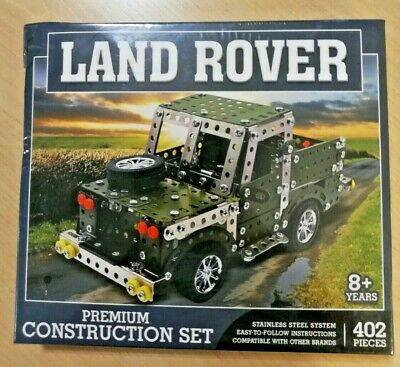 Land Rover Construction Set 402 Piece Stainless Steel