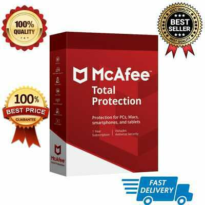McAfee Total Protection 2019✅Plus 6 Year🔑1 Device-Fast Antivirus🚀License Key🔑