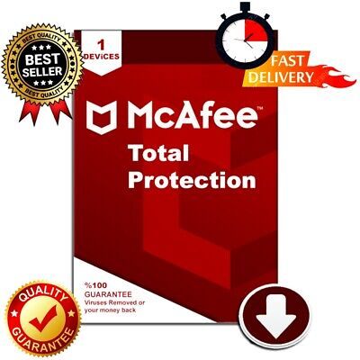 McAfee Total Protection 2019 ✅6 Year 🔥Key🔑Antivirus🚀🔑Instant Dilivery(30s)📩