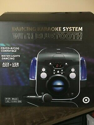 Dancing Karaoke System with Bluetooth (near new)