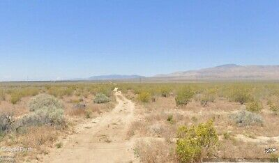 $48K Assessed Value - 1.98 Acre Building Lot Rosamond Area Southern California