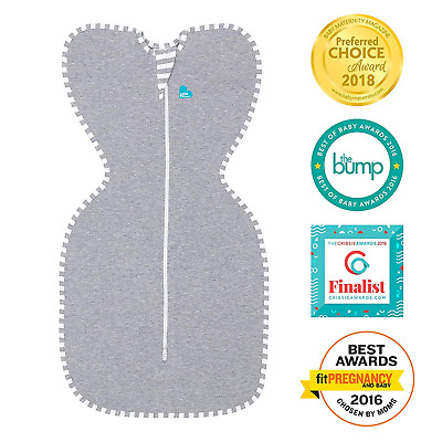 Love to Dream Swaddle Up Original,Gray,Small,for Baby 7-13 Ibs, better sleep