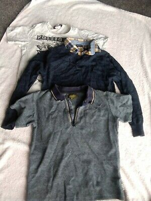 Boys Clothing bundle next Ted Baker George T Shirt Jumper Used Age 5-6 Years
