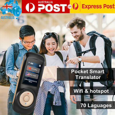 70 Languages Translaty Enence Smart Instant Real Time Translator Hotspot WIfi