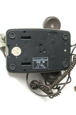 BEZEQ Used Rare Electric Bell System Rotary Dial Telephone Israel Western Phone