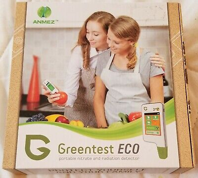 Anmez GreenTest Eco Portable Food Safety Testing Device/Radiation and Nitrate