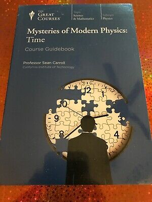 Teaching Co Great Courses DVDs    MYSTERIES of MODERN PHYSICS TIME  new & sealed
