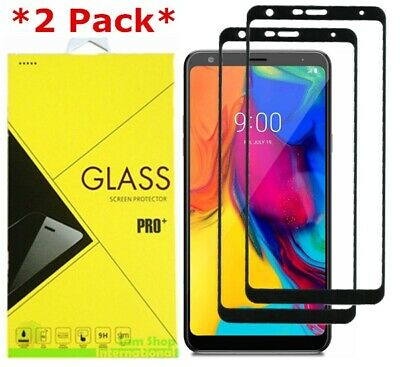 2-Pack Full Cover Tempered Glass Screen Protector For LG stylo 5 / Stylo 5+ Plus