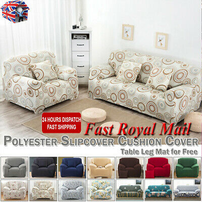 1/2/3/4 Seater Sofa Covers Slipcover Elastic Stretch Settee Protector Couch 2019