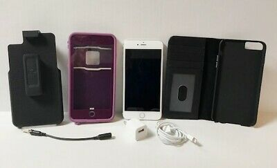 Apple iPhone 6s Plus unlocked AT&T 128GB A1634 CDMA + GSM  LifeProof Case Clip
