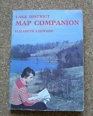 LAKE DISTRICT MAP COMPANION by ELIZABETH LEDWARD. 1978. FIRST EDITION PAPERBACK.
