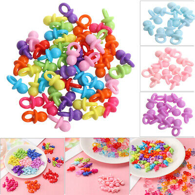 Toys Favors Boy Girl Party Decorations Pacifiers Bead Baby Shower Christening