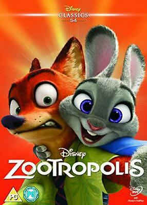 Zootropolis [DVD] [2016], New, DVD, FREE & FAST Delivery