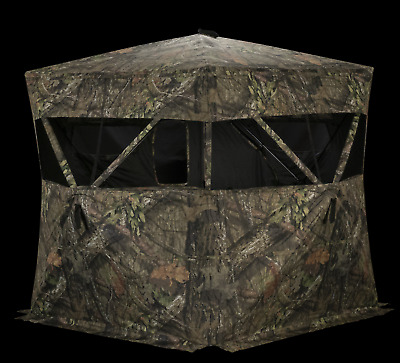 NEW Rhino Blinds Deer Hunting Ground Blind Stand Free Standing Game Camo Durable