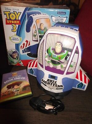 Lexibook Toy Story 3 Cd Player With 1 Book Vgc Boxed