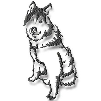 SNOW DOGS  10 MACHINE EMBROIDERY DESIGNS CD or USB