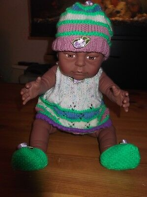 Peterkin Newborn Ethnic Baby Girl Doll  Anatomically Correct.....