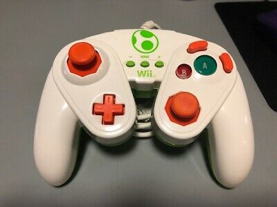 PDP Wired Fight Pad Controller - Super Smash Bros Nintendo Wii / Wii U – Yoshi