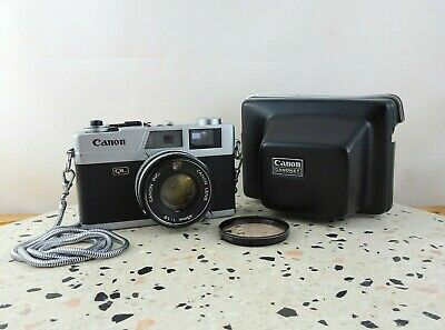 Vintage Canon Canonet QL19 35mm Rangefinder Camera with Case