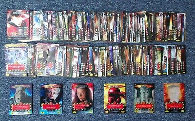 Dr Doctor Who Battles in Time Full & Complete 225 Card Invader Set - Loose