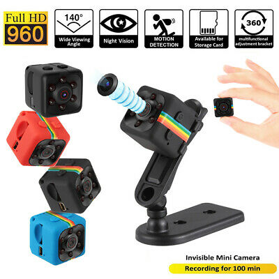 SQ11 Full HD 1080P Mini Car Hidden DV DVR Camera Spy Dash Cam IR Night Vision US