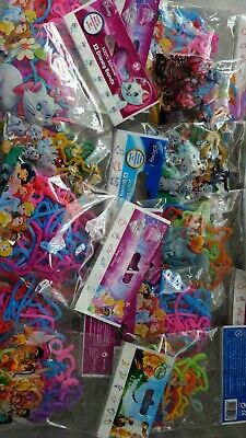 46 x Packs Of Assorted Disney Bands 100% Silicone Carboot Wholesale Joblot